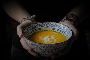 Dýňovokokosová polévka