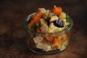 Salát s pečenou zeleninou