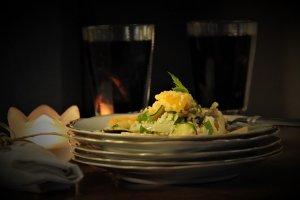 Zahřívací kuskus salát