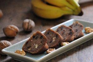 Ořechovo-banánový chlebíček, bábovka, muffin
