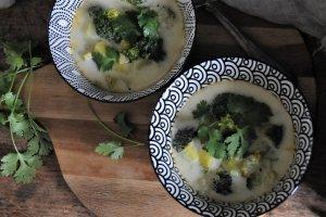 Pikantní brokolicová bramboračka