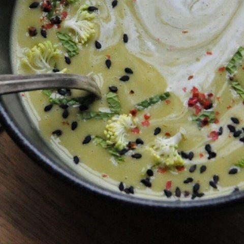 Zelená polévka